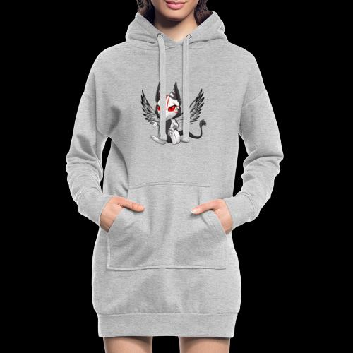 Démon Wolfire - Sweat-shirt à capuche long Femme