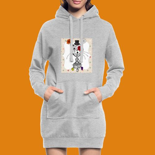 cat color - Hoodie Dress