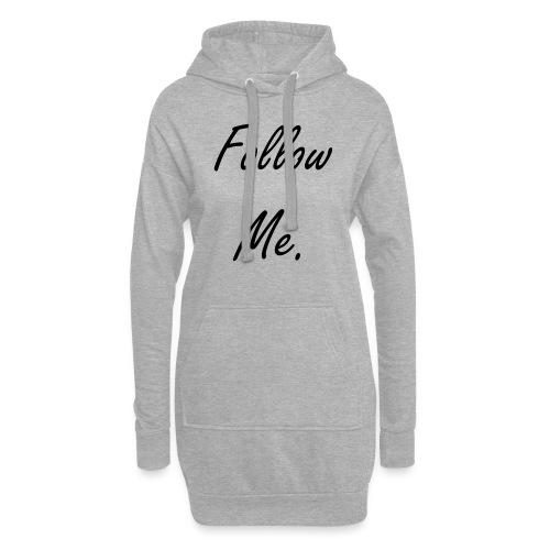 Follow me - Sweat-shirt à capuche long Femme