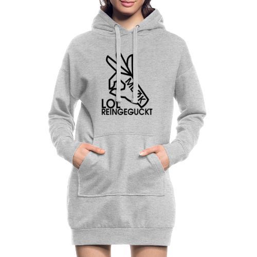 MEØK LOL REINGEGUCKT - Hoodie-Kleid