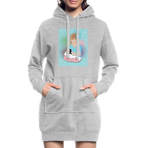 Friends forever - Sweat-shirt à capuche long Femme