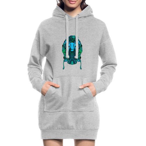 Blobcat Design - Hoodie Dress