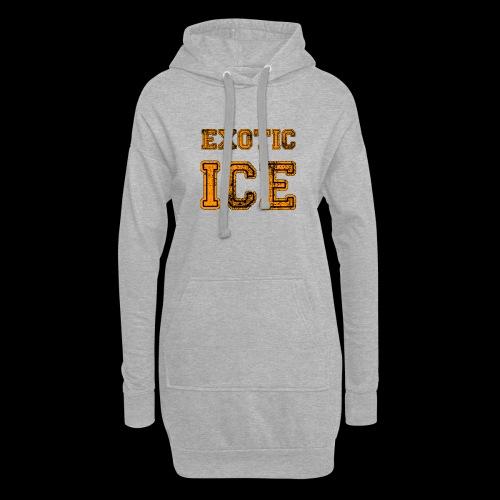 EXOTIC ICE - Hoodie-kjole