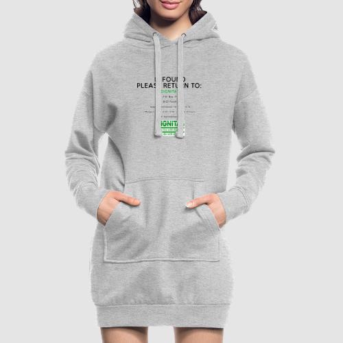 Dignitas - If found please return joke design - Hoodie Dress