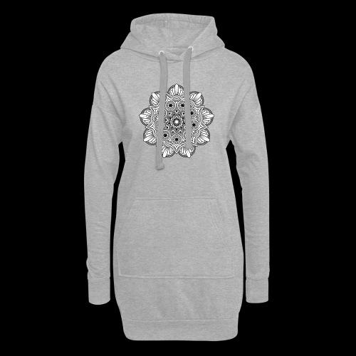 Mandala - Vestitino con cappuccio
