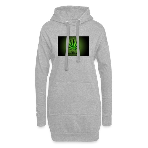 420 hash logo - Hoodie-kjole