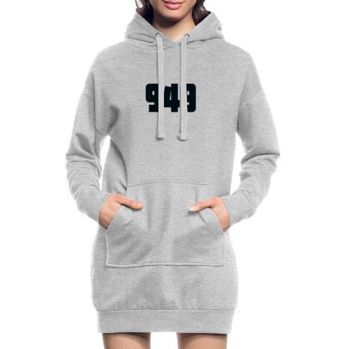 949black - Hoodie-Kleid