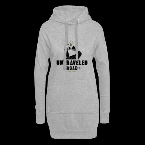 Untraveled Road Logo - black/small - Hoodie-Kleid