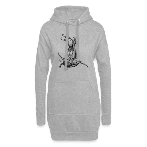 Fée par A.E Ferrets - Sweat-shirt à capuche long Femme
