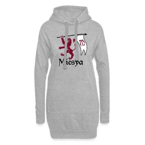 Miesya Shirt Vrouw - Hoodiejurk