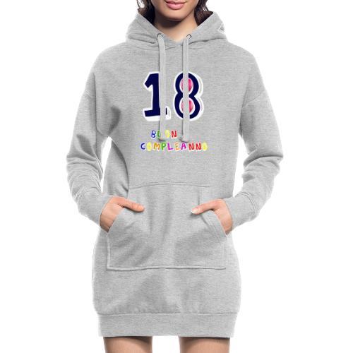 18th birthday - Vestitino con cappuccio