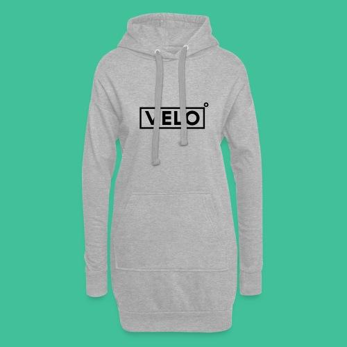 Velo Icon Blk - Long Sleeve Baseball Shirt W/N Clr - Hoodie Dress