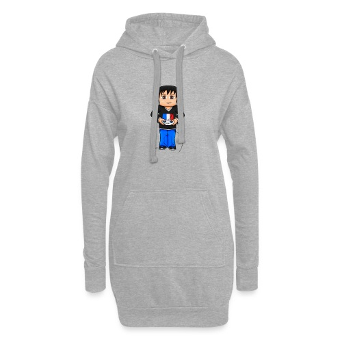 MaximeGaming - Sweat-shirt à capuche long Femme