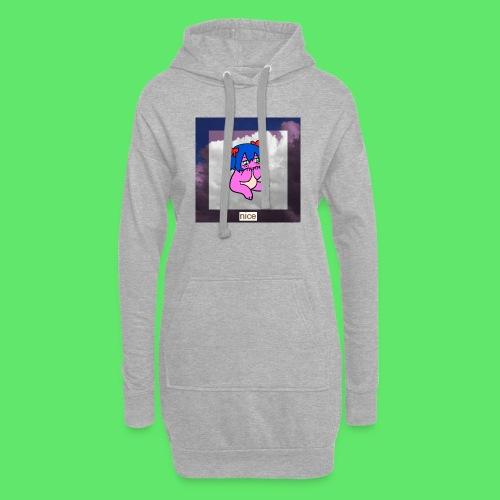 le nice girl - Hoodie Dress