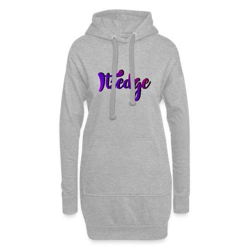 ItsEdge Signature Purple - Hoodie Dress