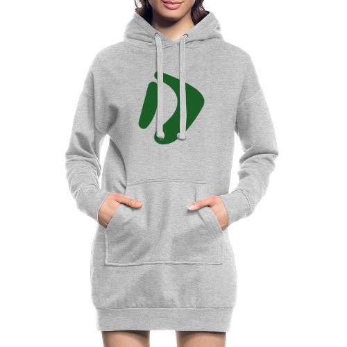 Logo D Green DomesSport - Hoodie-Kleid