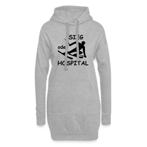 Sieg oder Hospital - Hoodie-Kleid