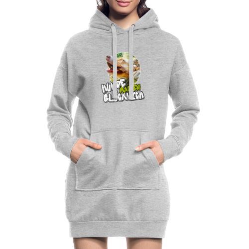 Hunde machen glücklich - Hoodie-Kleid