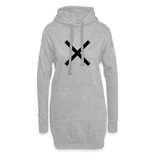 X Anker - Hoodie-Kleid