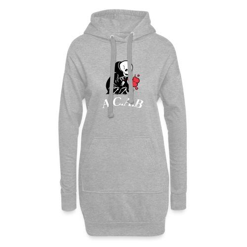 A.C.A.B la mort - Sweat-shirt à capuche long Femme