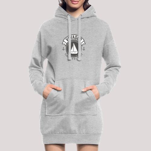 SegelbootVoyager - Hoodie-Kleid