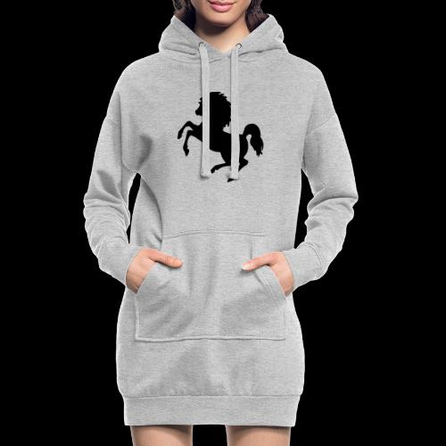Black is beauty - Hoodie-Kleid