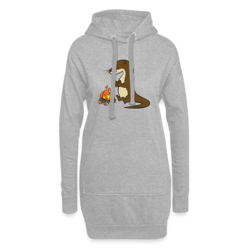 Song of the Paddle; Quentin campfire - Hoodie Dress