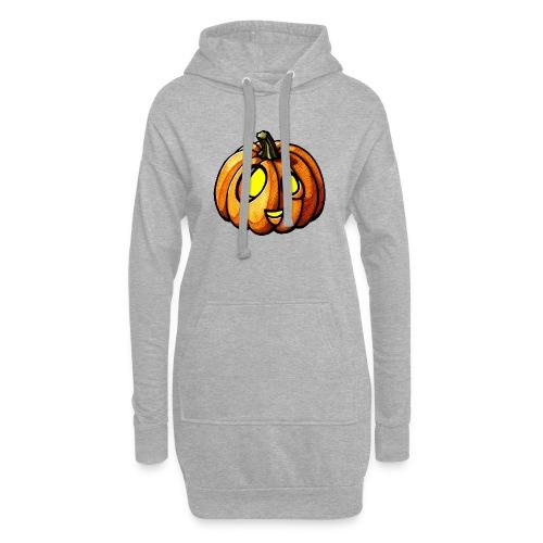 Pumpkin Halloween watercolor scribblesirii - Hoodie-Kleid