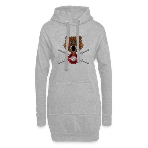 Bear Fury Crossfit - Sweat-shirt à capuche long Femme