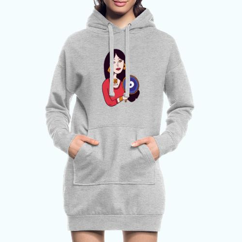 Fashion Girl - Hoodie Dress