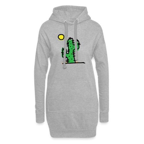 Cactus single - Vestitino con cappuccio