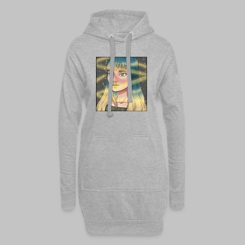 Sabliers étoilés - Sweat-shirt à capuche long Femme