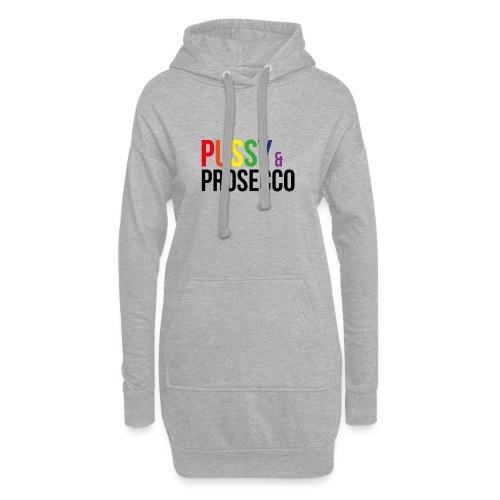Pussy & Prosecco Rainbow Gay Lesbian Pride - Hoodie Dress