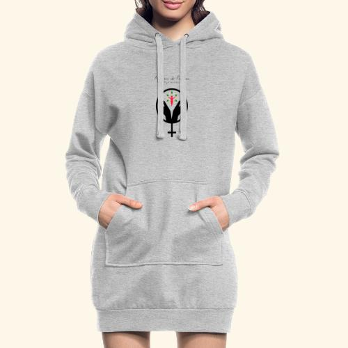 Affaires de Femmes - Sweat-shirt à capuche long Femme
