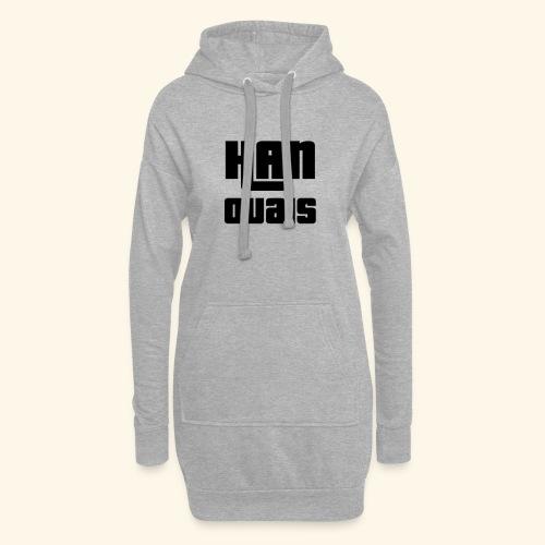Han Ouais GTA noir - Sweat-shirt à capuche long Femme