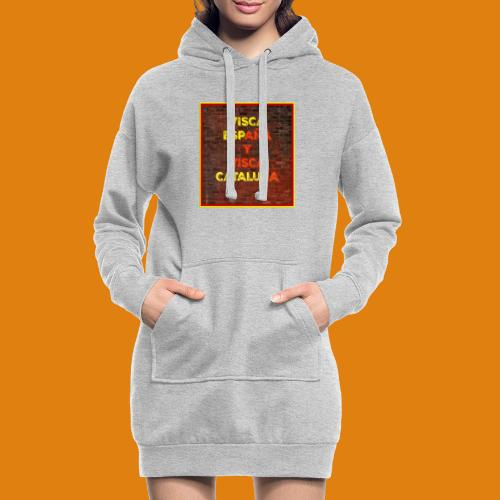 SPAIN AND CATALONIA - Hoodie Dress