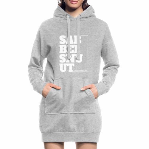 Sabbelsnuut - un watt för een söte - Hoodie-Kleid