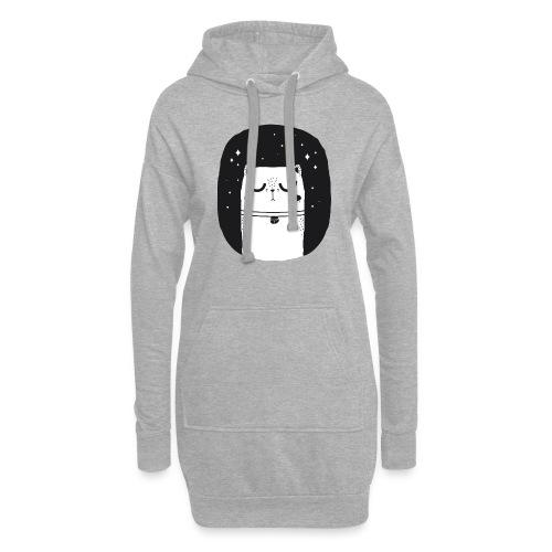 WHITE_CAT - Hoodie-Kleid