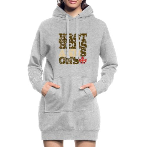 Brothers and Sons logo - dark design - Hoodie Dress