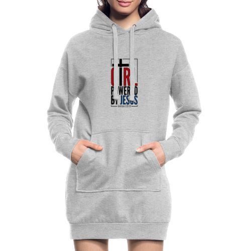 Girl Powered By Jesus - Women's Christian Fashion - Hoodie Dress