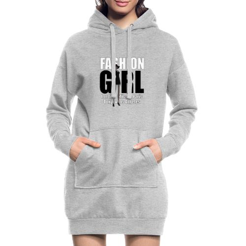 The Fashionable Woman - Fashion Girl - Hoodie Dress