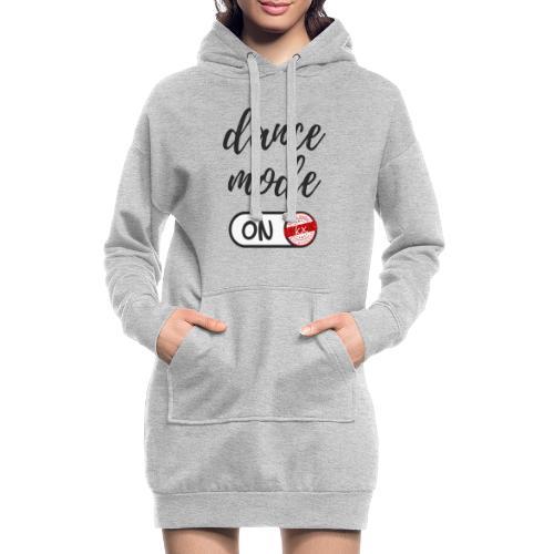 Shirt dance mode schw - Hoodie-Kleid