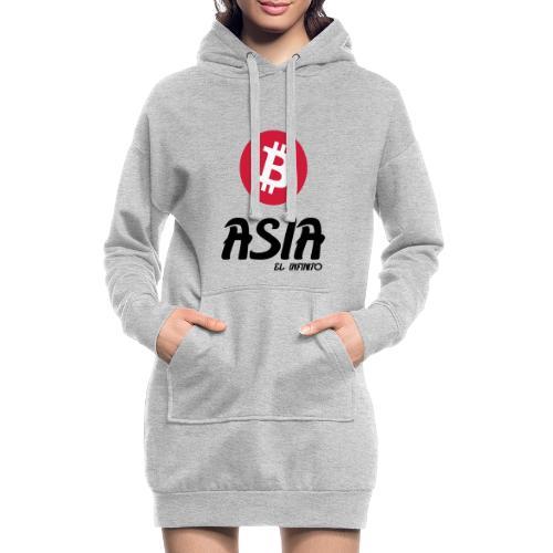 Bitcoin Asia el infinito - Sudadera vestido con capucha