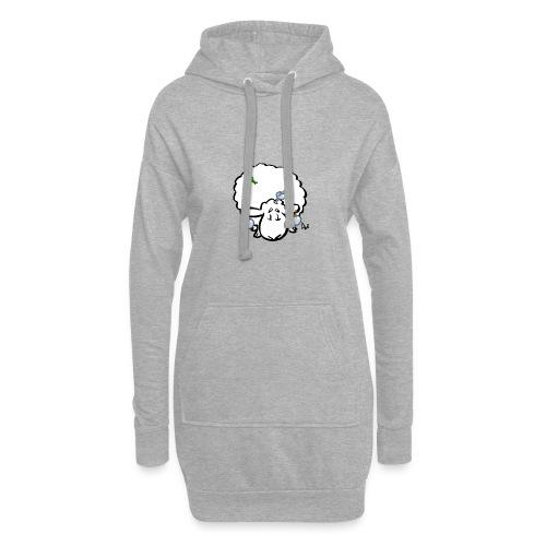 Owca choinkowa - Długa bluza z kapturem