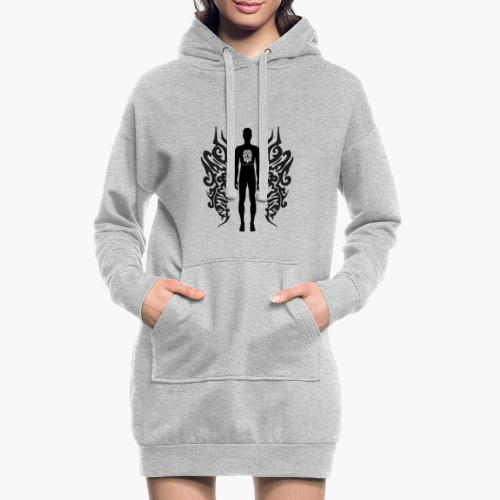 Houseology Original - Angel of Music (INVERSE) - Hoodie Dress