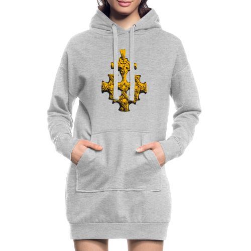 Goldschatz - Hoodie-Kleid
