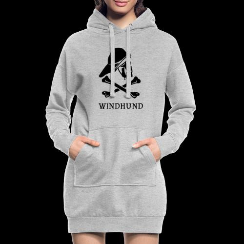 ~ Windhund ~ - Hoodie-Kleid