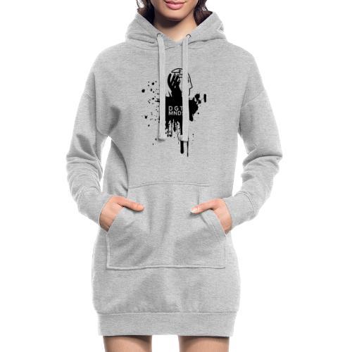 DGTL MNDST - Tour-Shirt 2018 mit schwarzem Print - Hoodie-Kleid