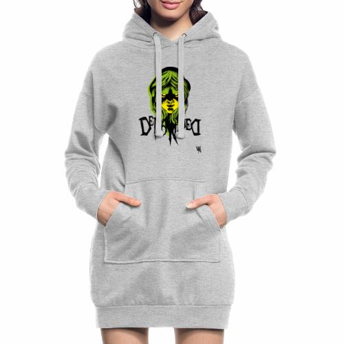 DerangeD - Tattoo Metal Horror Vampire - Hoodie-kjole