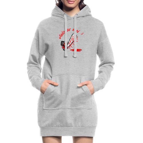 t shirt jalouse moi amour possessif humour - Sweat-shirt à capuche long Femme
